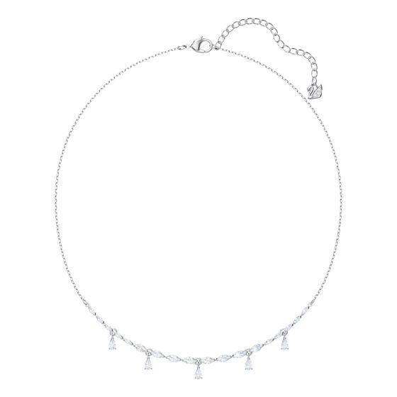 Colar-Louison-Necklace-Pequeno-Branco-Metal-Rodio