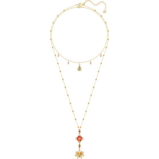 Colar-Lucky-Goddess-Multicolor-Banho-de-ouro