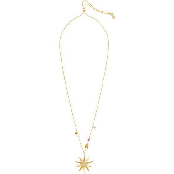 Colar-Lucky-Goddess-Star-Multicolor-Banho-de-ouro