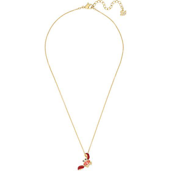 Colar-Ocean-Crab-Multicolor-Banho-de-ouro