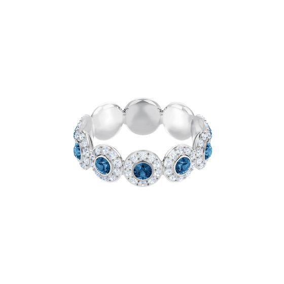 Anel-Angelic-Azul-Revestimento-De-Rodio