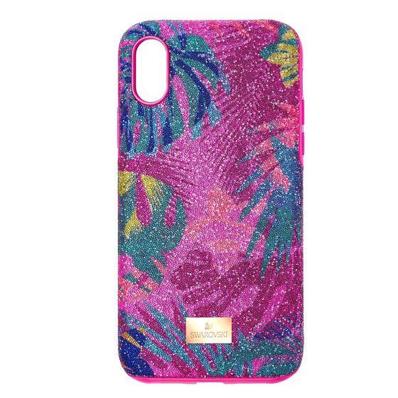 Capa-para-Smartphone-Tropical-com-Protecao-Antichoque-iPhone®-XS-Max-Multicolor