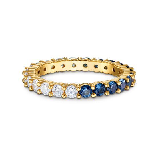 Anel-Vittore-Half-XL-Azul-Revestido-em-Tom-de-Ouro