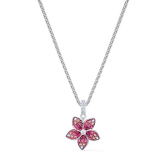 Pingente-Tropical-Flower-Rosa-Revestido-a-Rodio