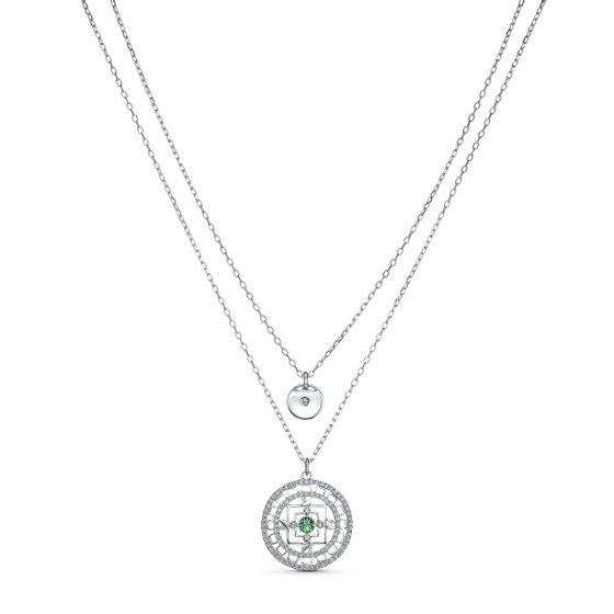 Colar-Swarovski-Symbolic-Mandala-Branco-Revestido-a-Rodio