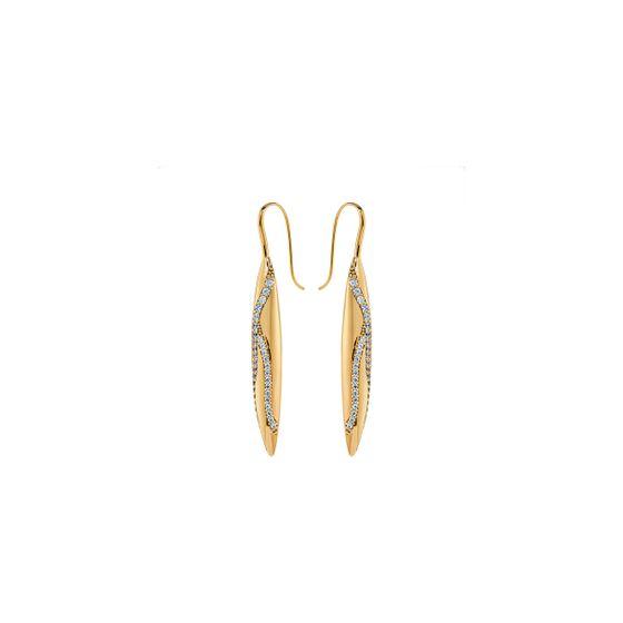 Brincos-Gilded-Treasures-Drop-Branco-Revestido-em-Tom-de-Ouro