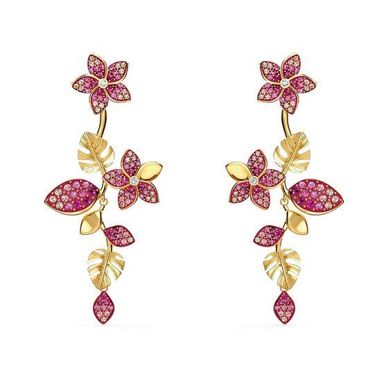Brincos-Tropical-Flower-Rosa-Revestidos-em-Tom-de-Ouro-Rosa