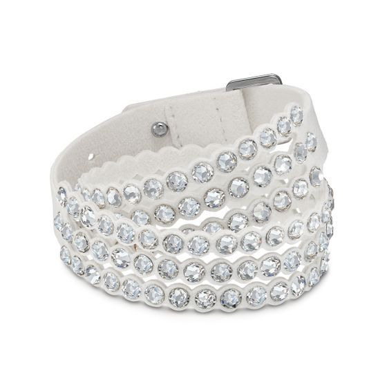 Pulseira-Swarovski-Power-Collection-Cinza