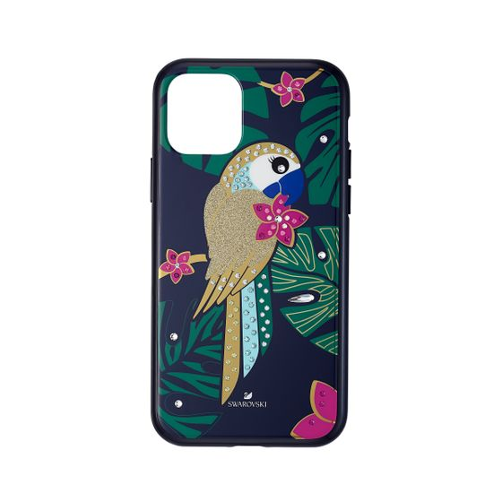 Capa-para-Smartphone-Tropical-Parrot-com-Protecao-Antichoque-iPhone®-11-Pro-Multicolor