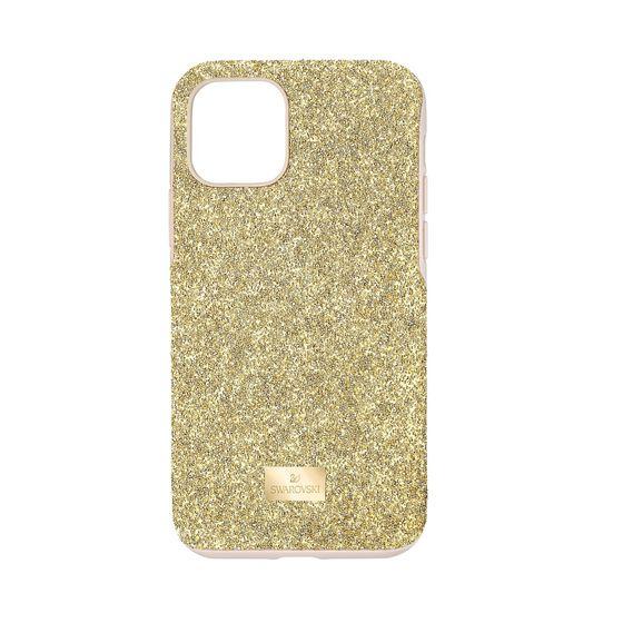 Capa-para-Smartphone-High-com-Protecao-Antichoque-iPhone®-11-Pro-Dourado