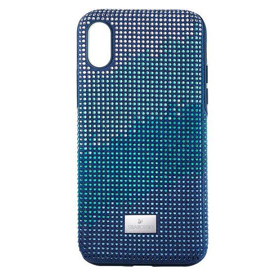 Capa-para-Smartphone-Crystalgram-com-Protecao-Antichoque-iPhone®-X-XS-Azul