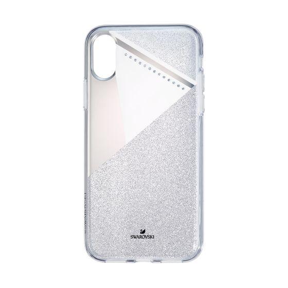Capa-para-smartphone-com-para-choques-iPhone®-X---XS-tom-prateado