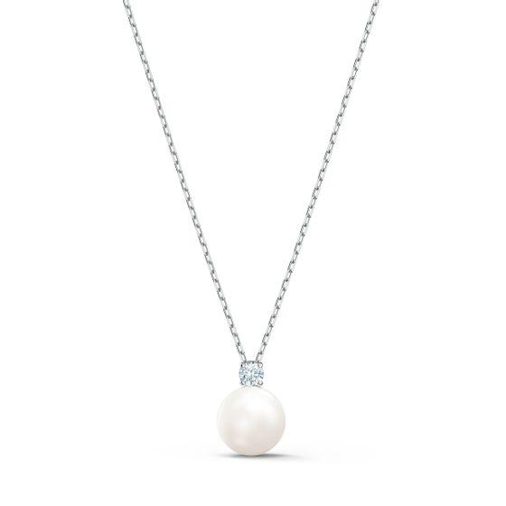 Colar-Treasure-Pearl-branco-banhado-a-rodio