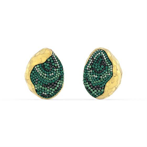 Brinco-The-Elements-Brincos-verde-banhado-a-ouro