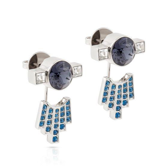 Brinco-Ear-Jecket-Karl-Lagerfeld-azul-banhado-a-paladio