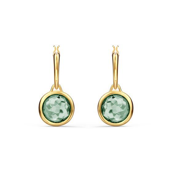 Mini-argolas-para-orelhas-furadas-Tahlia-verdes-banhadas-com-tom-dourado
