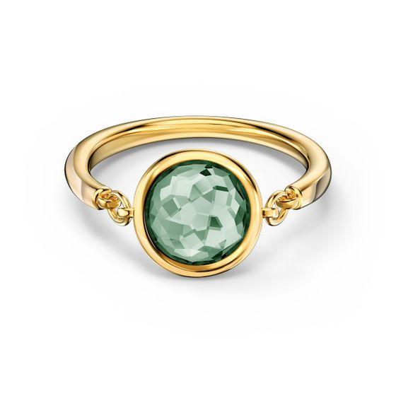 Anel-Tahlia-verde-banhado-com-tom-dourado