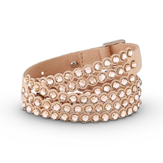 Pulseira-Swarovski-Power-Collection-Slake-rosa