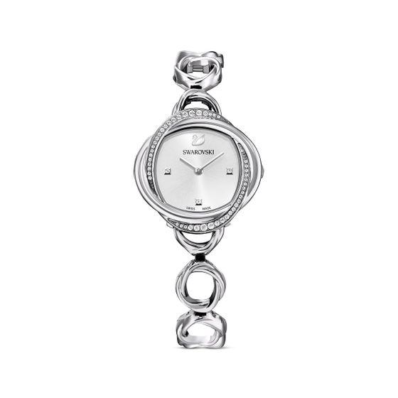Relogio-Crystal-Flower-pulseira-de-metal-tom-prateado-aco-inoxidavel