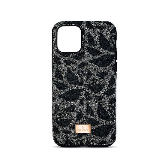 Capa-de-smartphone-Swanflower-com-amortecedor-iPhone®-11-Pro-Max-preta