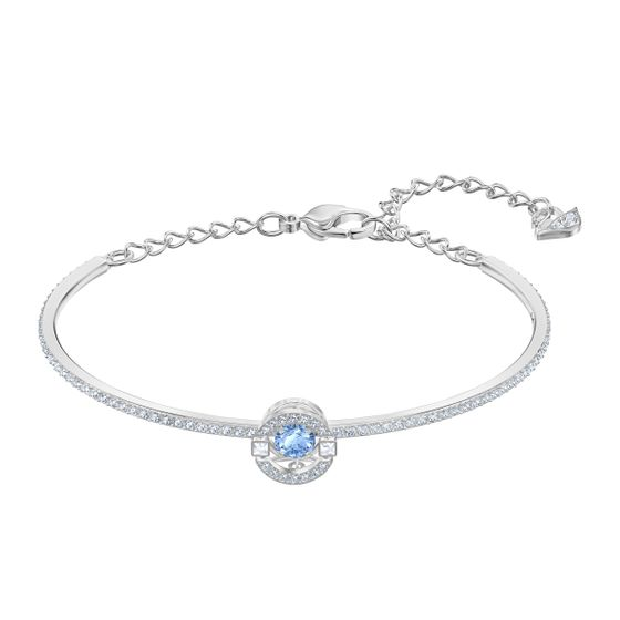 Pulseira-Swarovski-Sparkling-Dance-azul-banhado-a-rodio